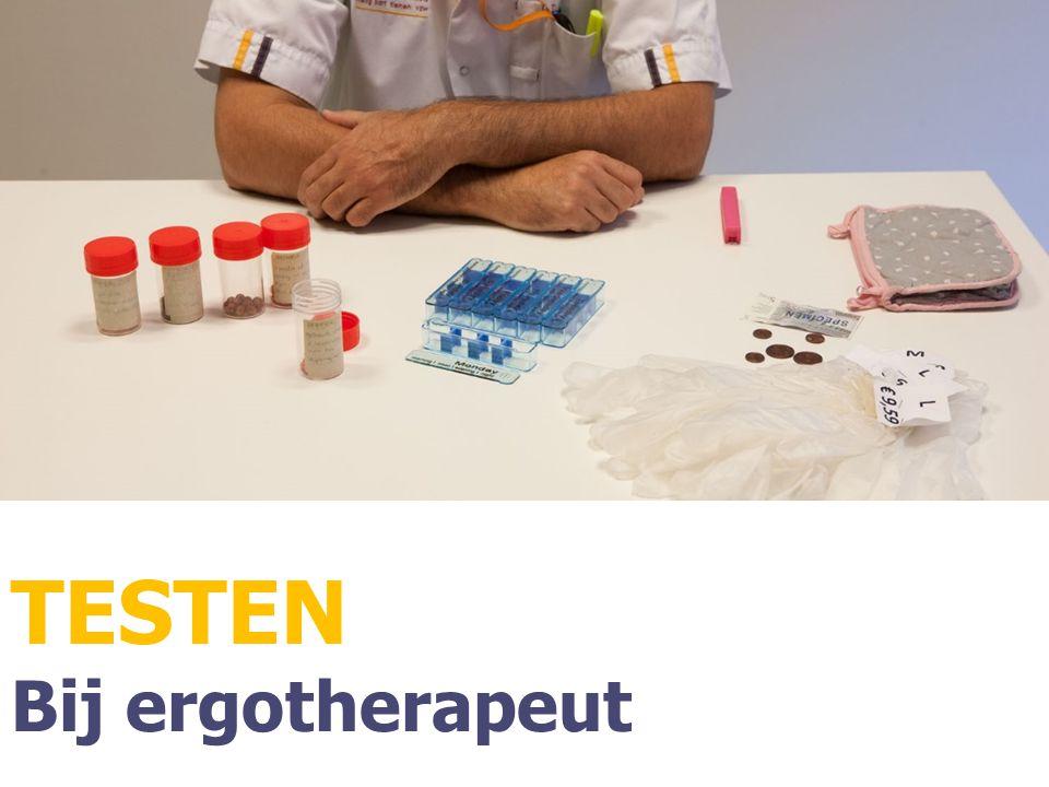 TESTEN Bij ergotherapeut