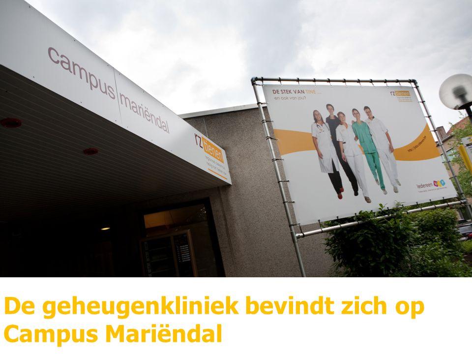 De geheugenkliniek bevindt zich op Campus Mariëndal