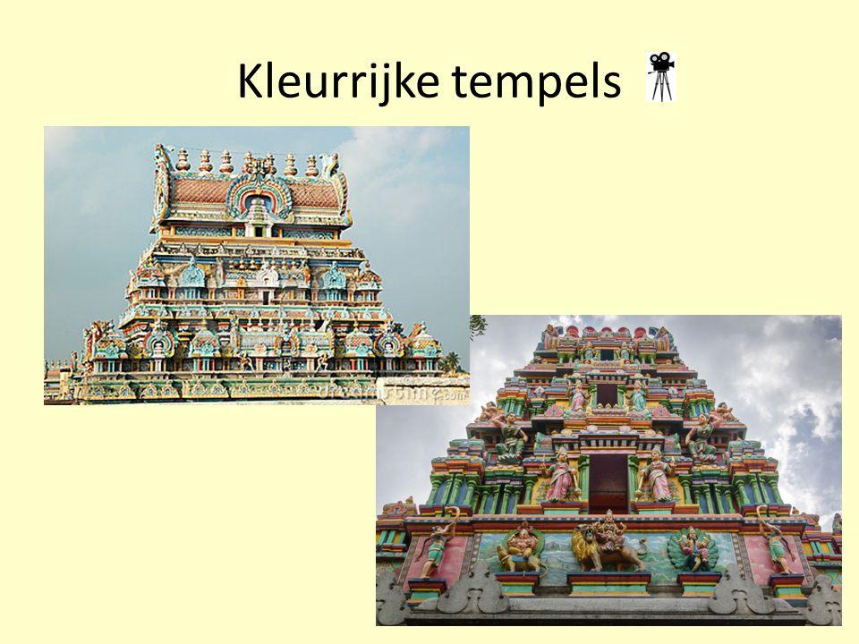 Kleurrijke tempels