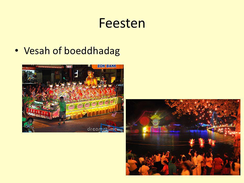 Feesten Vesah of boeddhadag