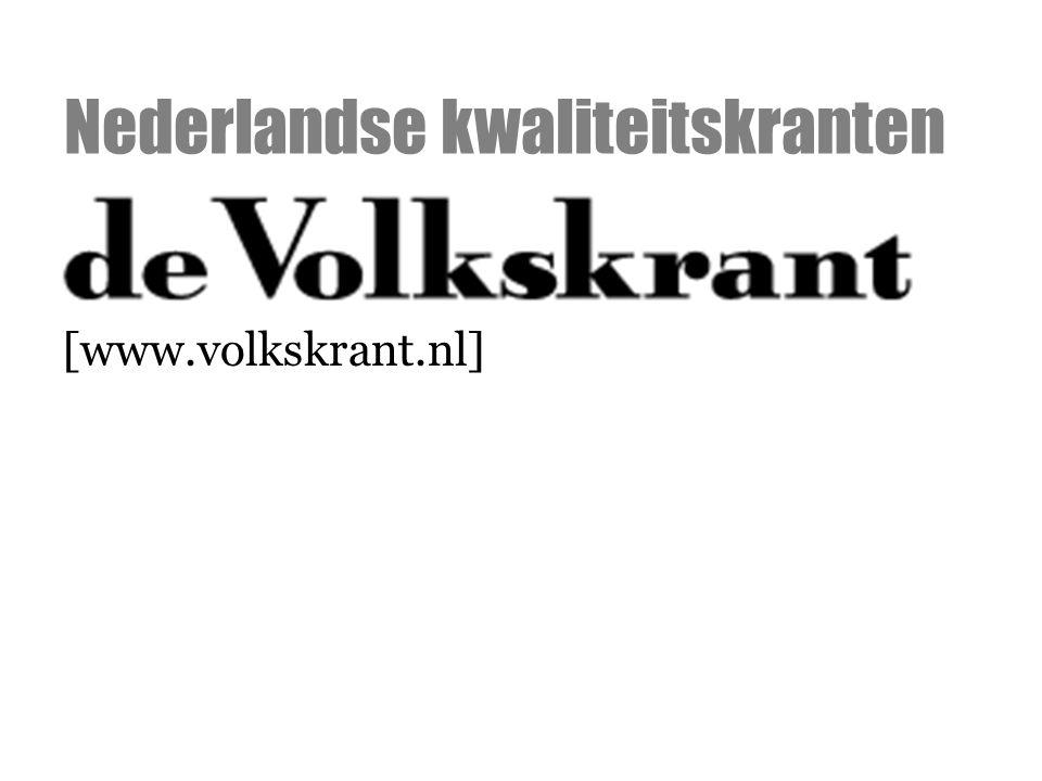 [www.volkskrant.nl] Nederlandse kwaliteitskranten