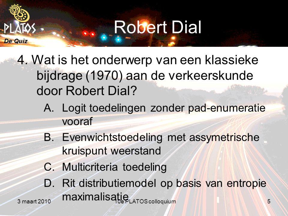 De Quiz Robert Dial 4.