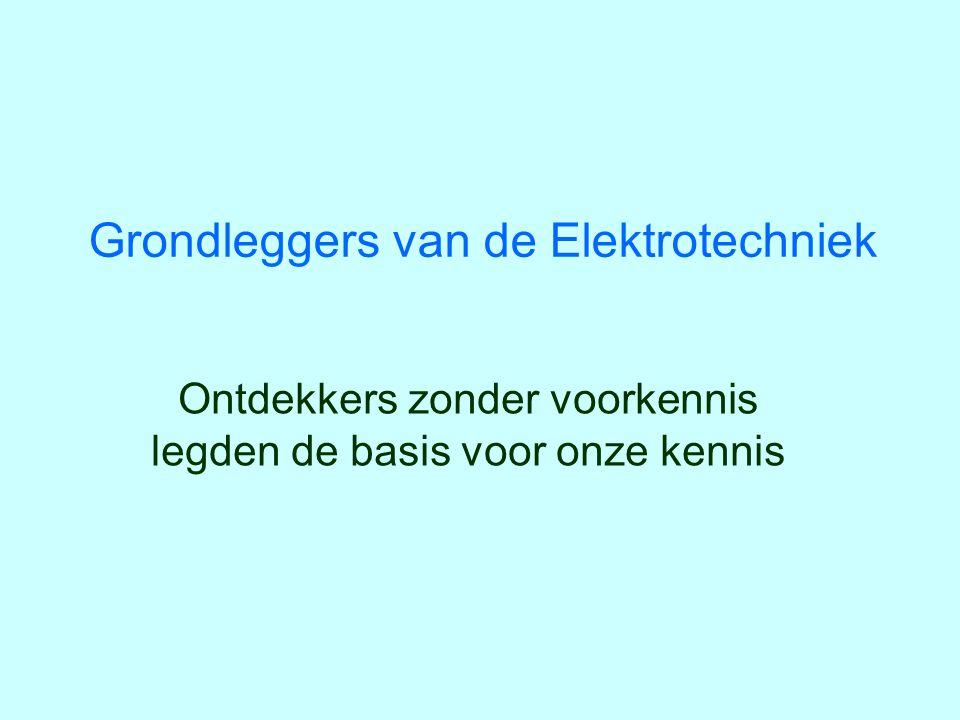 12/33 André-Marie Ampère 1775-1836 Wiskundige beschrijving van elektromagnetisme (1827): Wet van Ampère