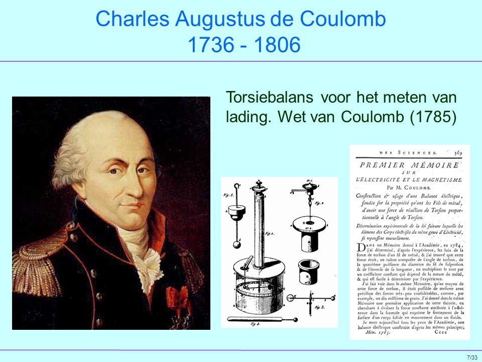 8/33 Alessandro Volta 1745 - 1827 Zuil van Volta (1800)