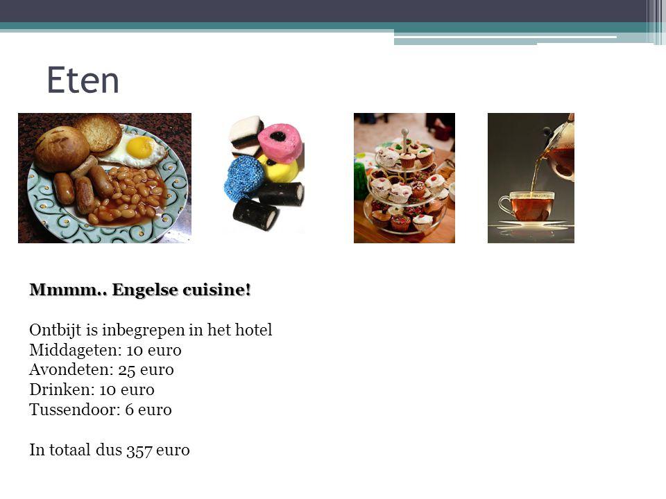 Eten Mmmm.. Engelse cuisine.