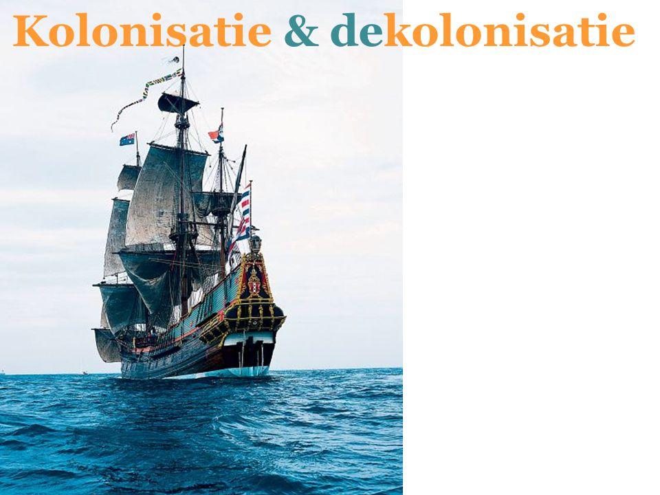 Indië => Indonesië WOII katalysator in dekolonisatie WOII: Japan bezet Indonesië –Aanwakkeren nationalistische en anti- Nederlandse gevoelens –Na WOII: druk van de internationale gemeenschap tot dekolonisatie