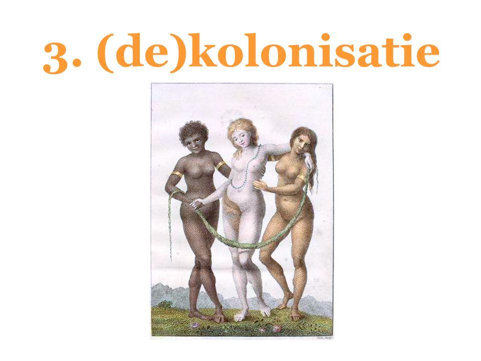 3. (de)kolonisatie
