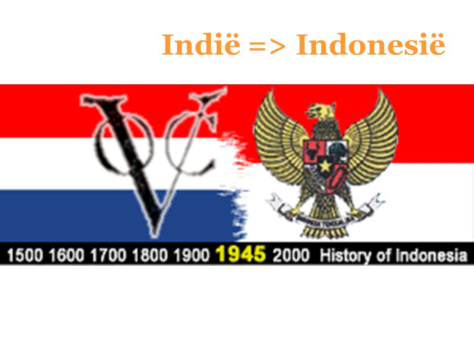 Indië => Indonesië