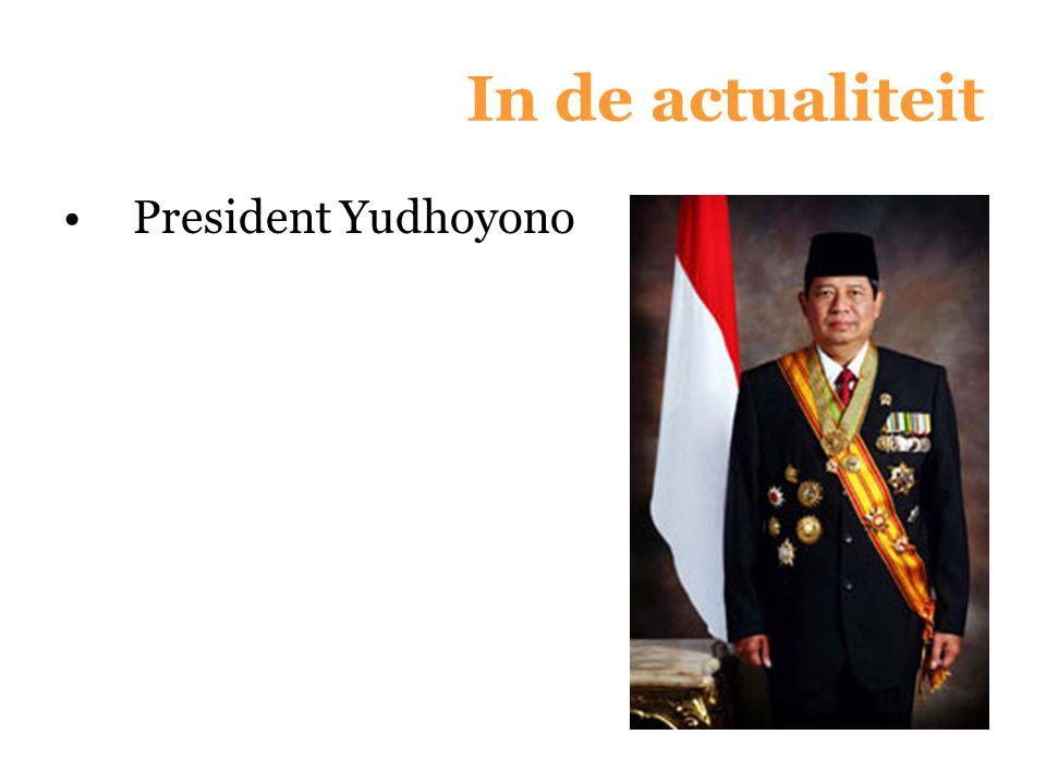 In de actualiteit President Yudhoyono