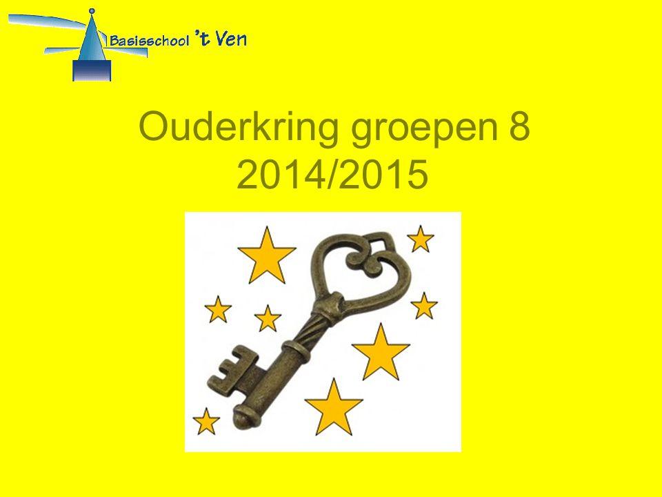 Ouderkring groepen 8 2014/2015