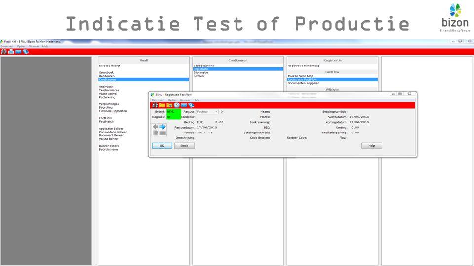 Indicatie Test of Productie