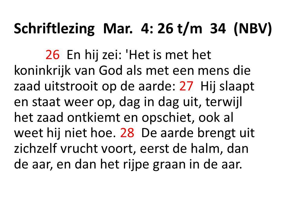Schriftlezing Mar.