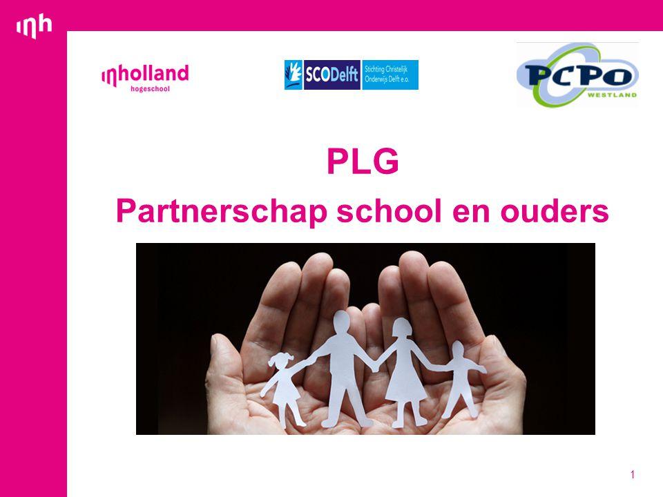 PLG Partnerschap school en ouders 1