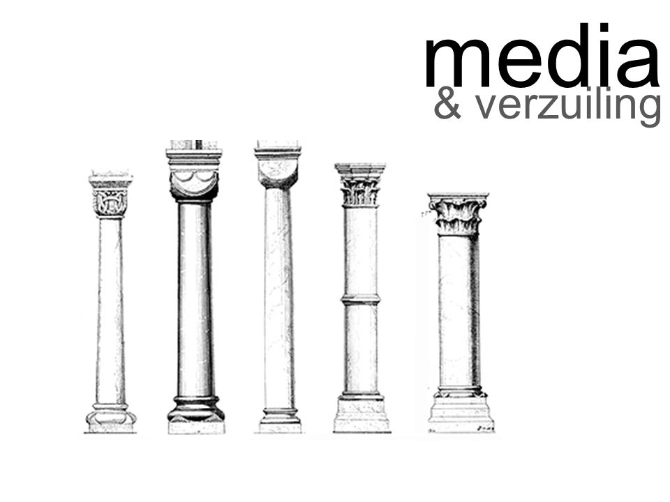 media & verzuiling