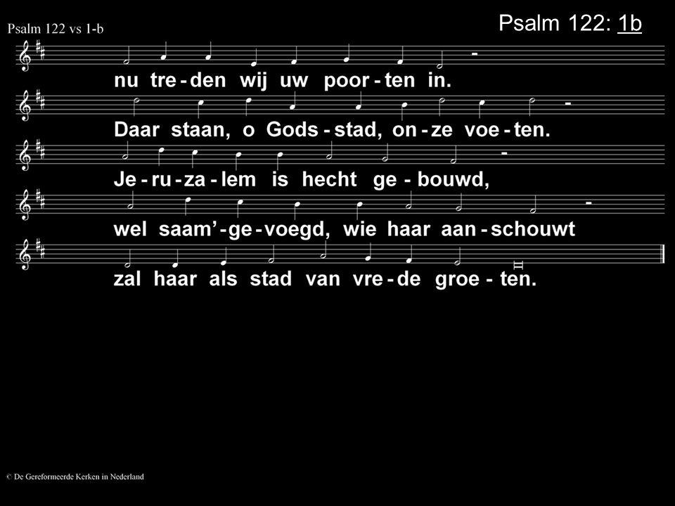 Psalm 122: 1b