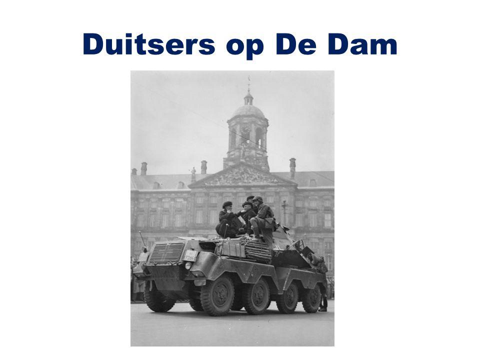 Duitsers op De Dam