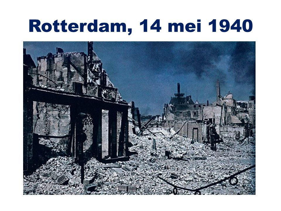 Rotterdam, 14 mei 1940