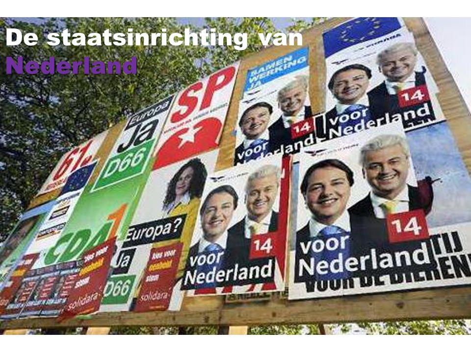 De staatsinrichting vanNederland