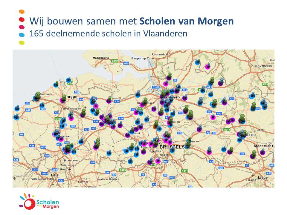 Het ontstaan van Scholen van Morgen Groot tekort aan middelen voor scholenbouw  de Vlaamse overheid  alternatieve manier  lange wachtlijst in scholenbouw in te korten.