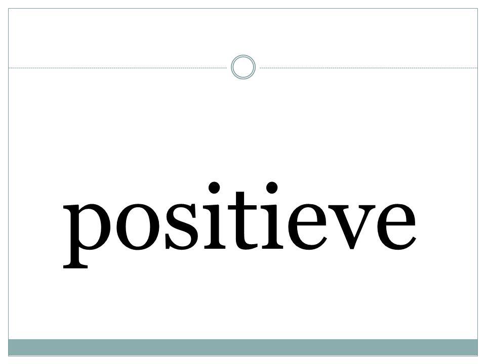 positieve