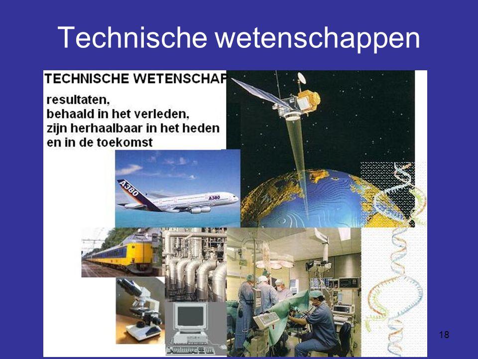18 Technische wetenschappen