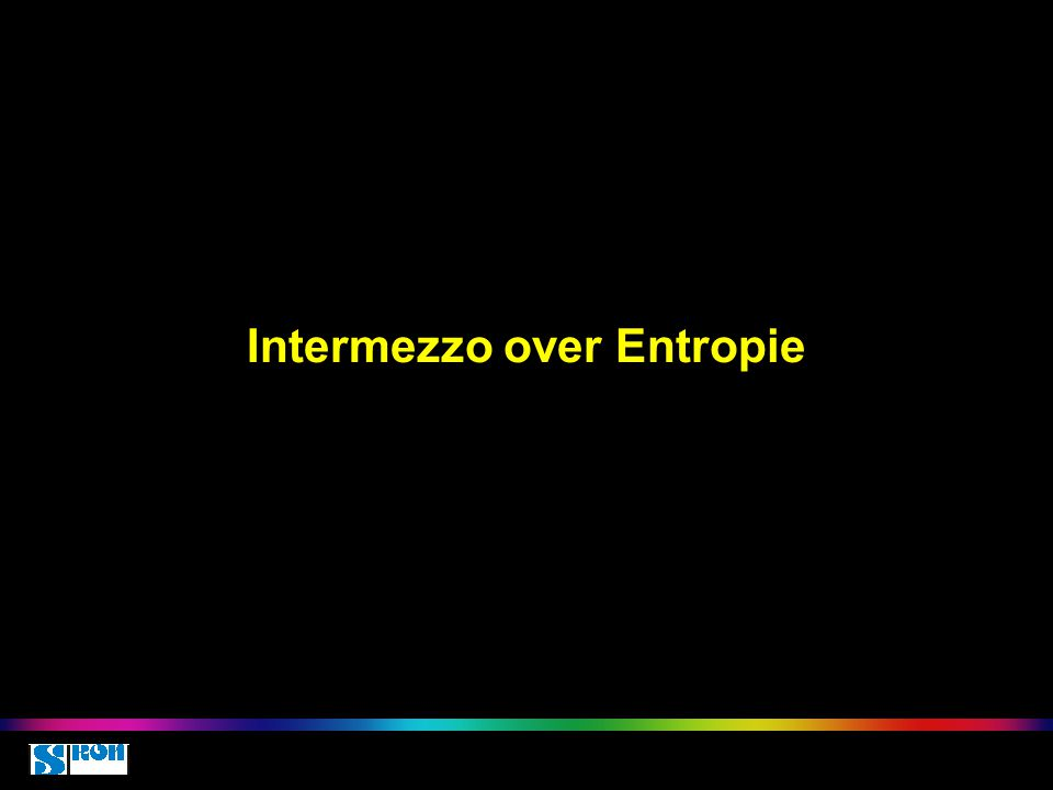 Intermezzo over Entropie HOVO 17 juli 2015