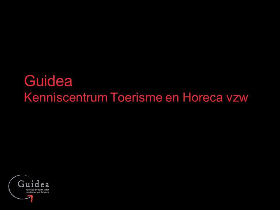 Guidea Kenniscentrum Toerisme en Horeca vzw