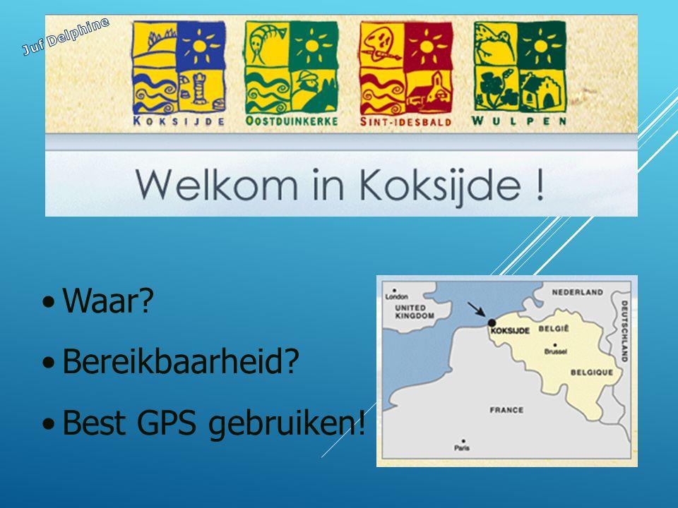Waar Bereikbaarheid Best GPS gebruiken!