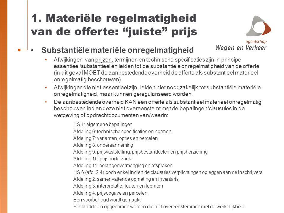4.Prijsverantwoording i.h.k.v. abnormale prijzen RvS 17 februari 2014, nr.