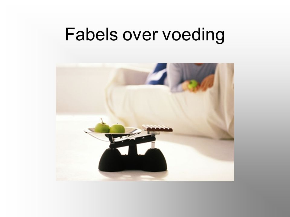 Fabels over voeding
