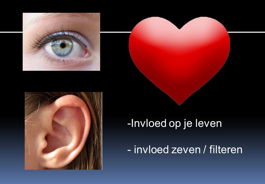 -Invloed op je leven - invloed zeven / filteren