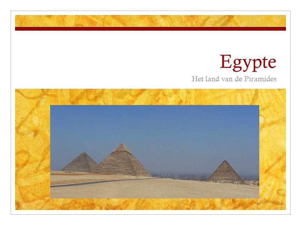 Egypte Het land van de Piramides