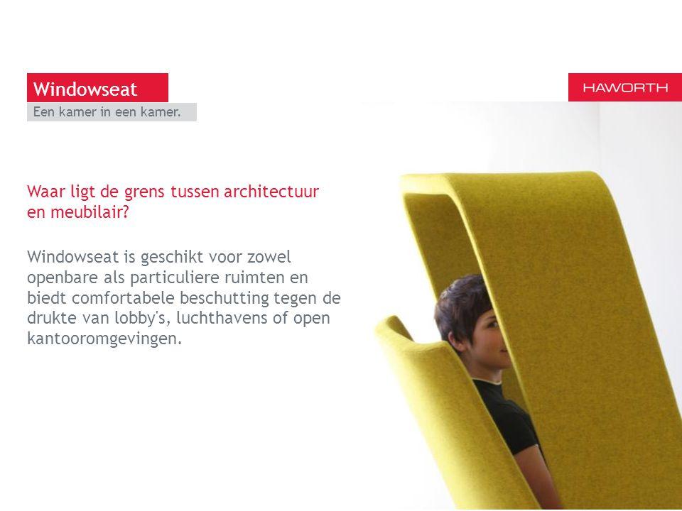 13 maart 2014 | Berlijn Een kamer in een kamer. Waar ligt de grens tussen architectuur en meubilair? Windowseat is geschikt voor zowel openbare als pa