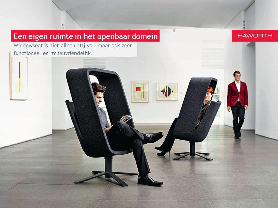 13 maart 2014 | Berlijn Windowseat is niet alleen stijlvol, maar ook zeer functioneel en milieuvriendelijk. Een eigen ruimte in het openbaar domein
