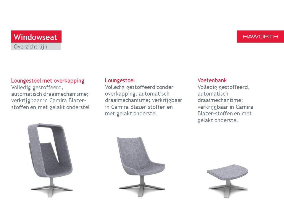 13 maart 2014 | Berlijn Loungestoel met overkapping Volledig gestoffeerd, automatisch draaimechanisme; verkrijgbaar in Camira Blazer- stoffen en met g