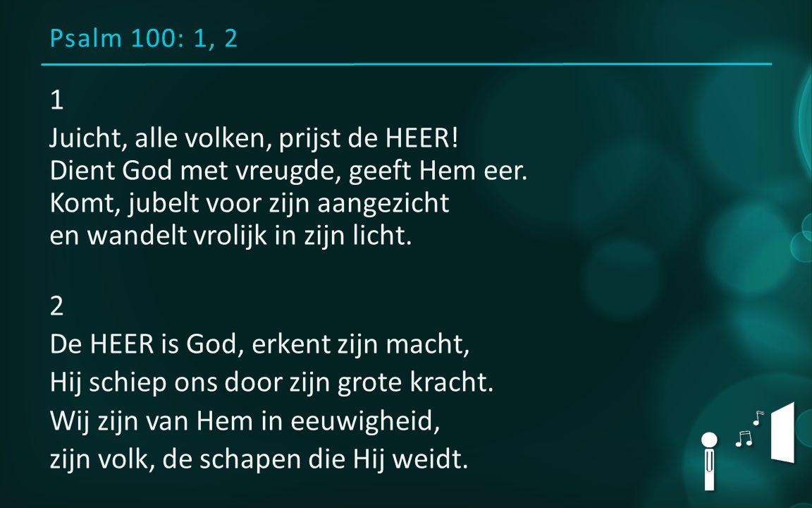 Liturgiebr.D. v Harten Collecte: Diaconaal centrum Eindhoven Psalm100:1, 2 L.