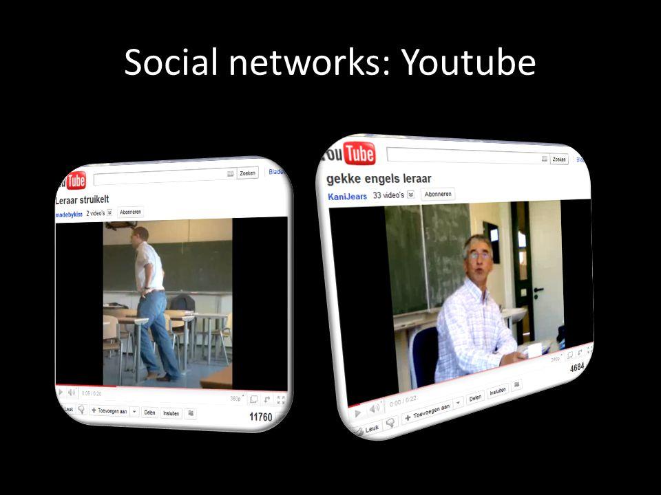 Social networks: Youtube