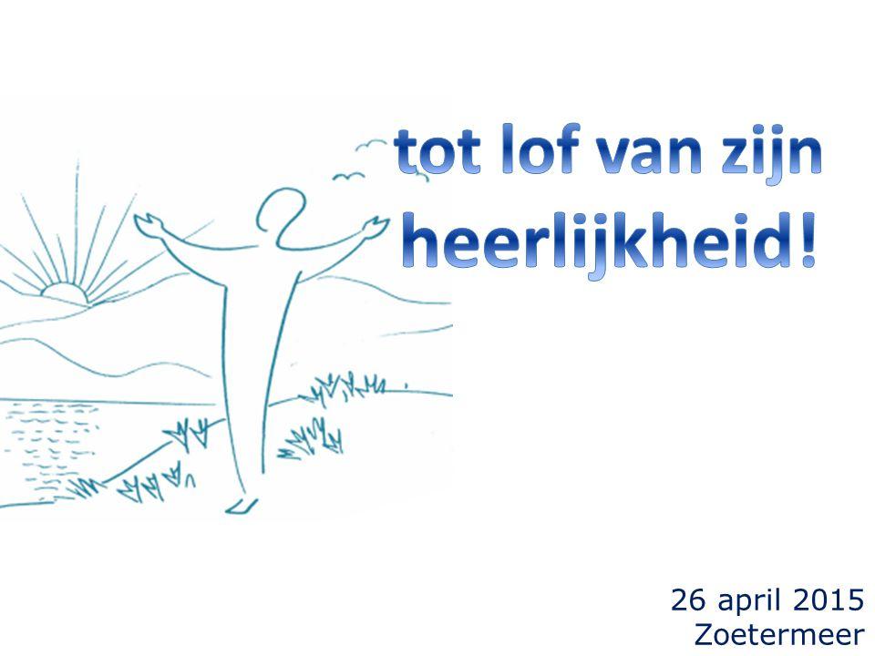 26 april 2015 Zoetermeer