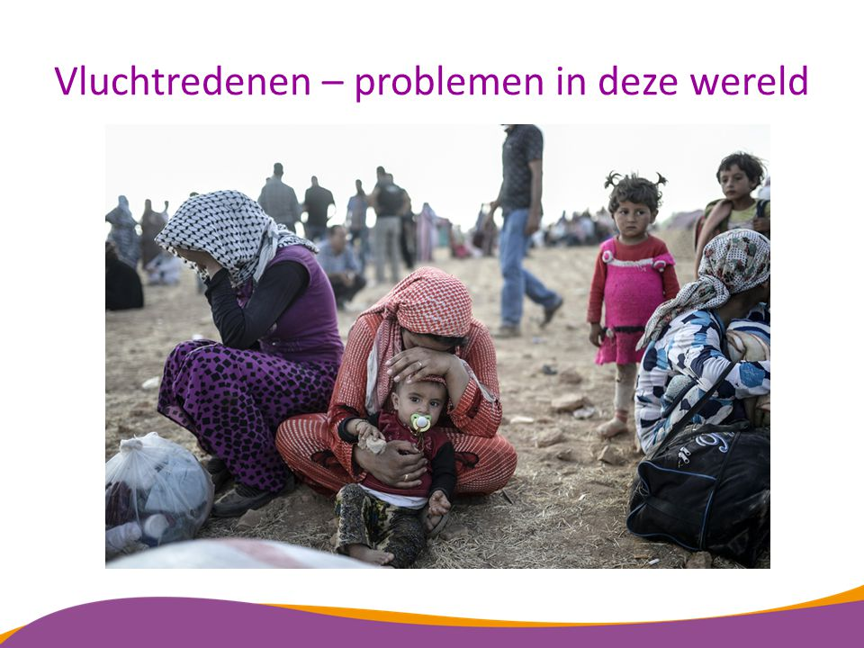 Vluchtredenen – problemen in deze wereld
