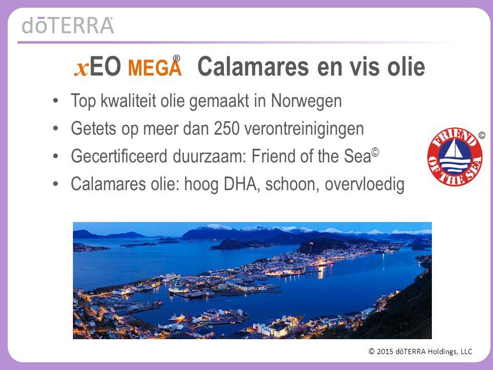 © 2015 dōTERRA Holdings, LLC x EO MEGA Calamares en vis olie Top kwaliteit olie gemaakt in Norwegen Getets op meer dan 250 verontreinigingen Gecertifi
