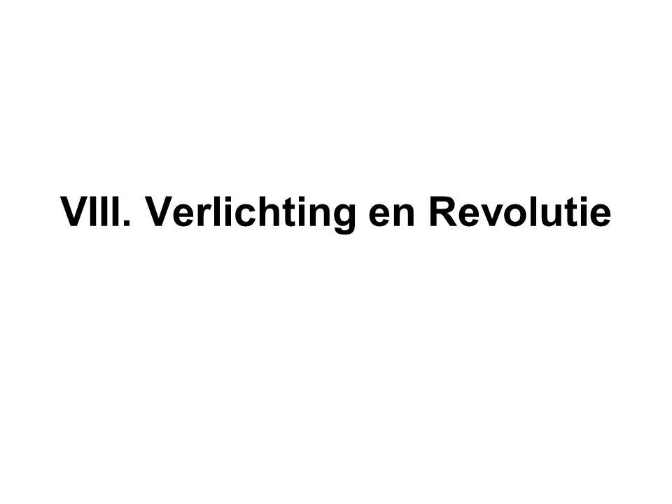 VIII. Verlichting en Revolutie
