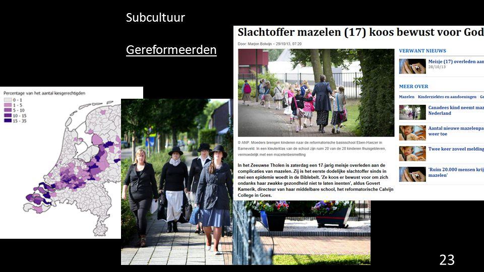 Subcultuur Gereformeerden 23
