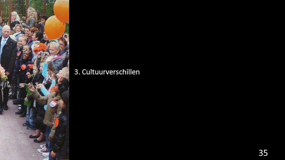 3. Cultuurverschillen 35