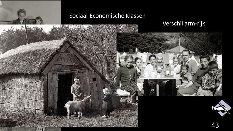 Sociaal-Economische Klassen Verschil arm-rijk 43