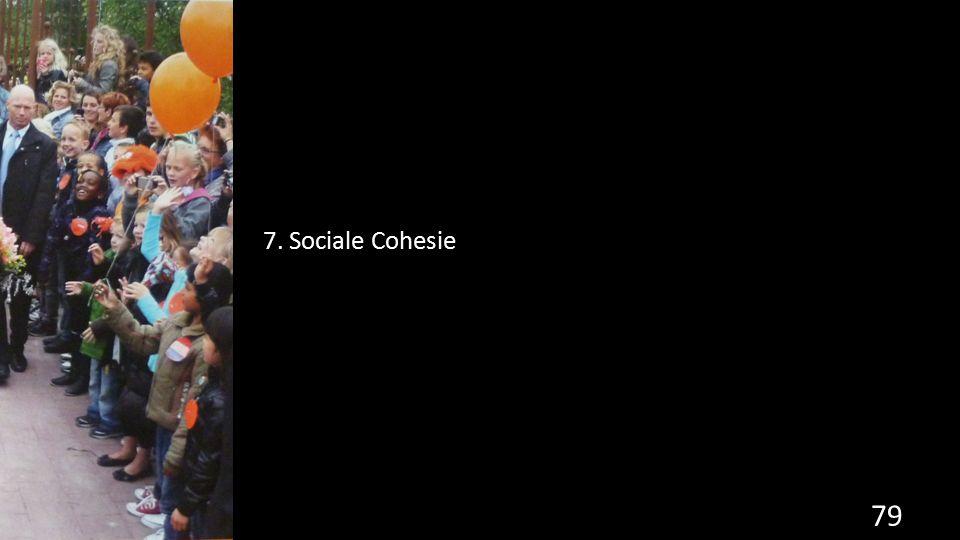 79 7. Sociale Cohesie