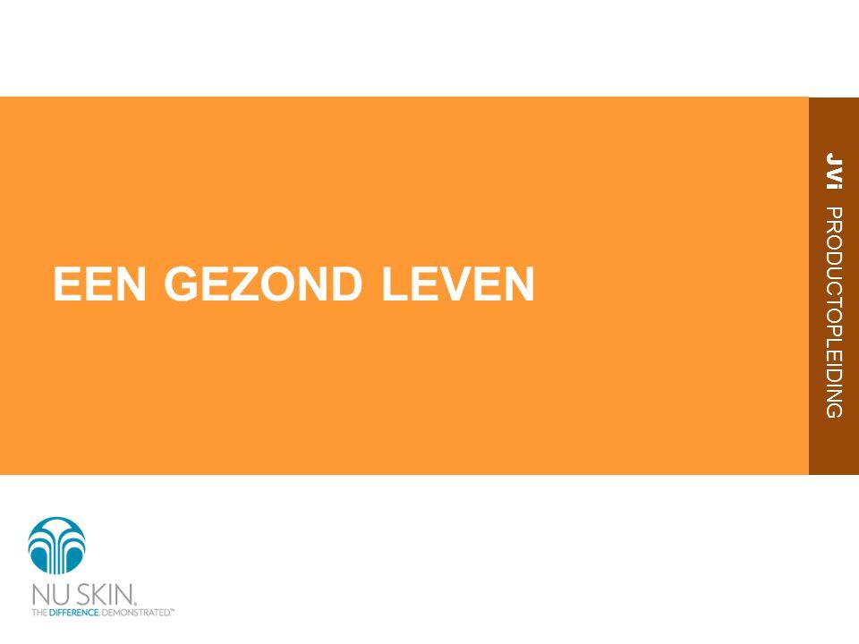 JVi PRODUCTOPLEIDING EEN GEZOND LEVEN