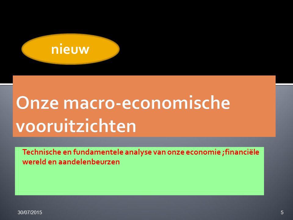 30/07/2015 26 Koersdoel 7€ verkopen