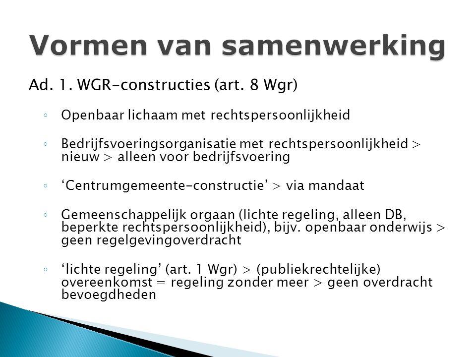 Ad.1. WGR-constructies (art.