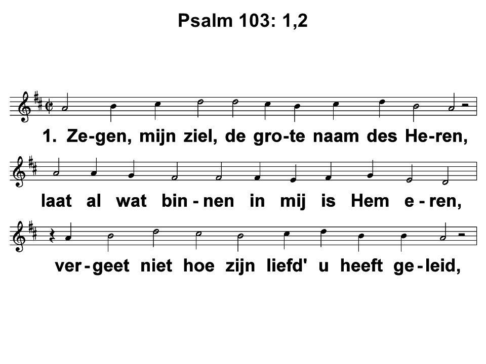 Psalm 103: 1,2