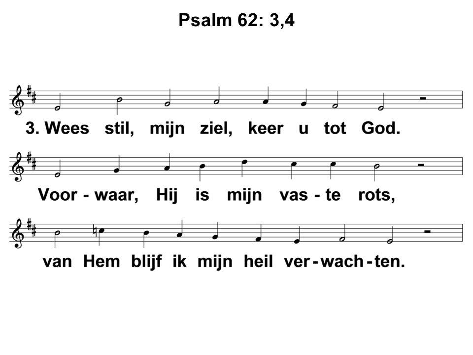 Psalm 62: 3,4